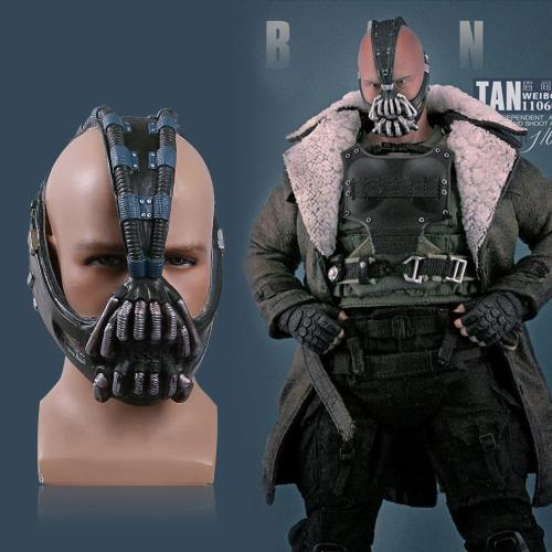 Batman:The Dark Knight Rises Bane Dorrance Cosplay Mask