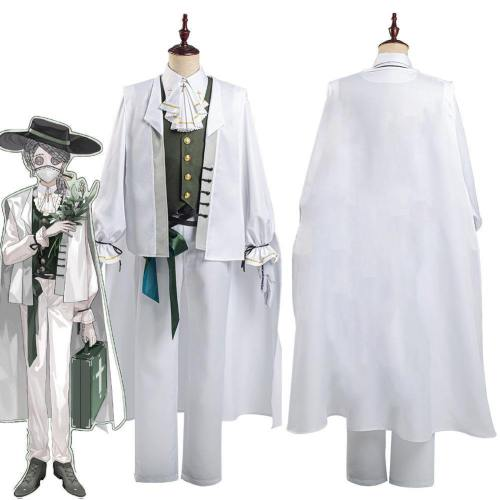 Identity V Embalmer Aesop Carl Shirt Pants Suit Halloween Carnival Outfit Cosplay Costume