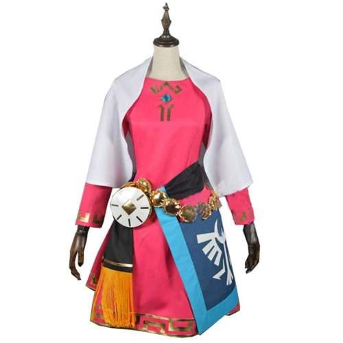 The Legend of Zelda Princess Zelda Cosplay Costume Zelda Cosplay Dress