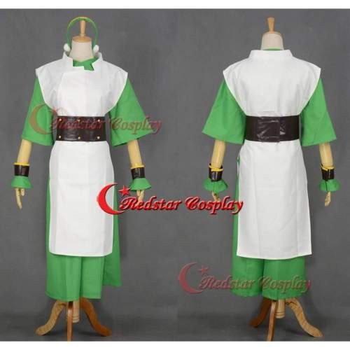 Avatar The Last Airbender Toph Beifong Cosplay Costume  Handmade
