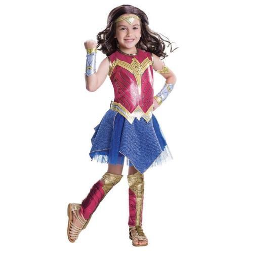 Dawn Of Justice Superhero Wonder Woman Kids Girls Halloween Costume