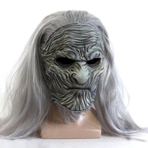 Game Of Thrones 8 Scary The White Walkers Night King Zombie Cosplay