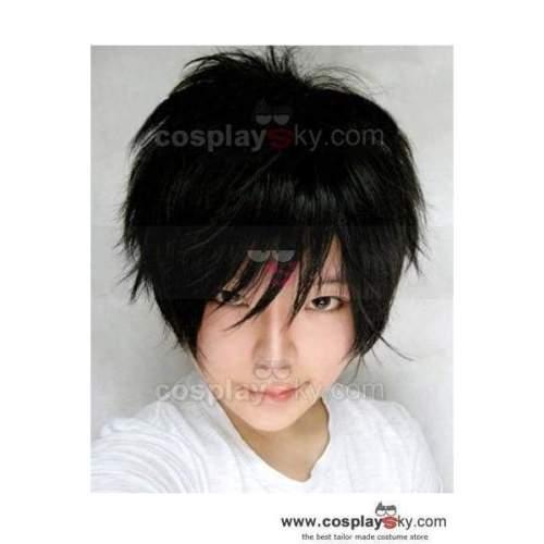 Durarara Orihara Izaya Cosplay Short Black Wig