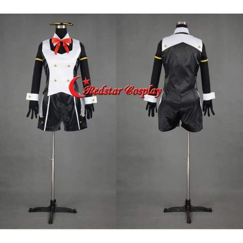 Vocaloid Hatsune Miku Project Diva 2Nd Luka Cosplay Costume - Costume Made In Any Size