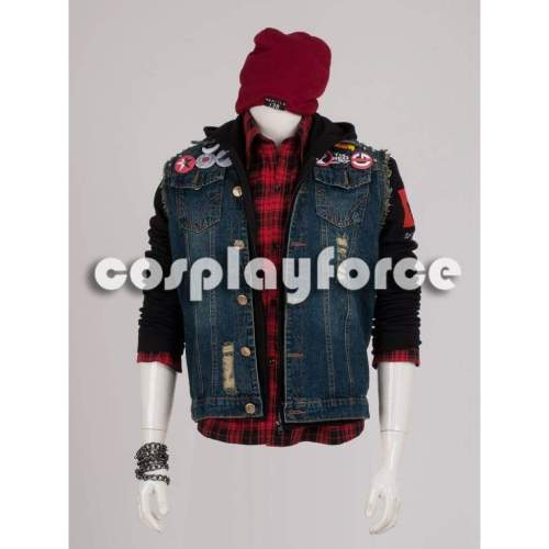 inFAMOUS Second Son Delsin Rowe Cosplay Costume