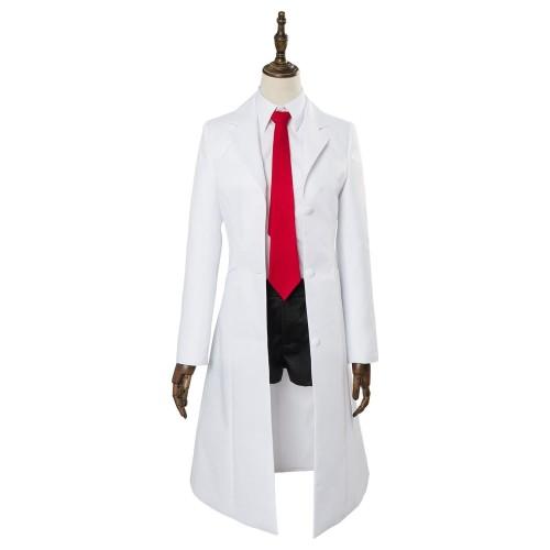 Anime Video Game Steins;Gate 0 Makise Kurisu Uniform Cosplay Costume