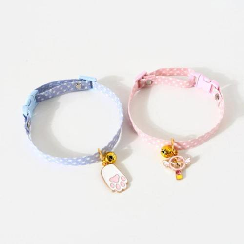 Adorable Pet Collar With Charm