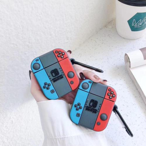 Switch Game Console Apple Airpods Protective Case With Keyring