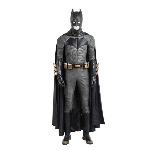 Justice League Batman Costume Black Full Set Costume