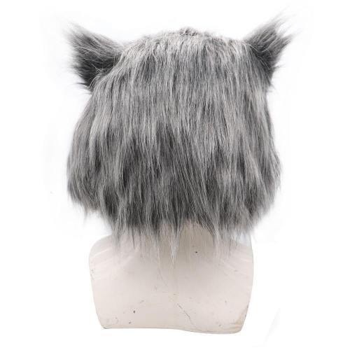 Inosuke Hashibira Kimetsu No Yaiba Hair Pig Headwear Helmet Cosplay