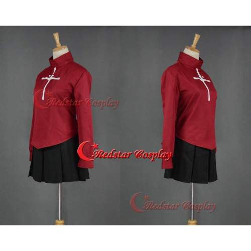 Fate Stay Cosplay Night Rin Costume Cosplay Dress Anime Manga New Uniform