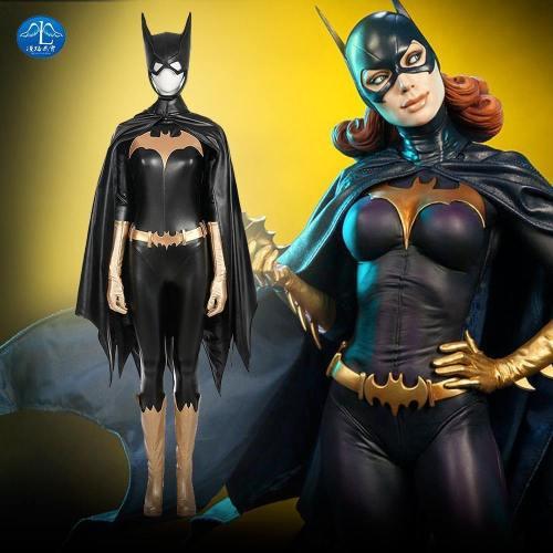 New Arrival Women Costume Batgirl Cosplay Costume Halloween Cosplay Costume For Women Custom Made Women Basic