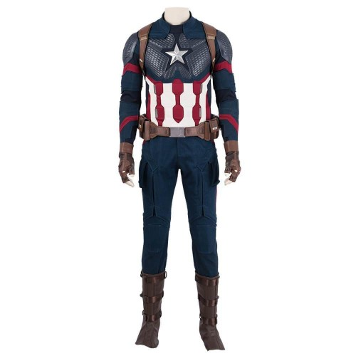Avengers Endgame Captain America Cosplay Suits