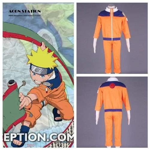 Adult Kid Cosplay Anime Costume Hot Anime Naruto Cosplay Costume Naruto Uzumaki Cosplay For Halloween
