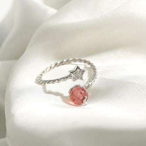 Star Moonstone Ring