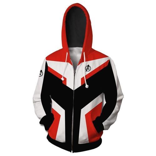 Avengers 4 Final Battle Quantum Warrior White Quantum Realm Suit 3D Sweatshirt