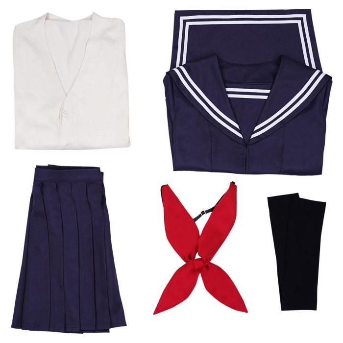 Boku No Hero Academia My Hero Academia Himiko Toga Top Skirt Outfits Halloween Carnival Suit Cosplay Costume