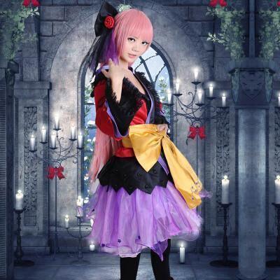 Vocaloid Luka Cosplay Dress/Costume