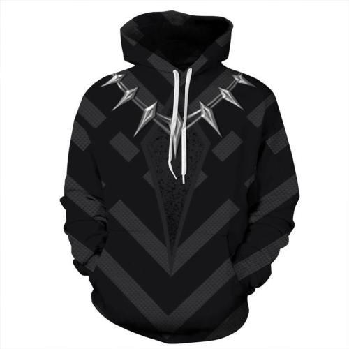 Superhero Pullover Hoodies 3D Pattern Sweatshirt