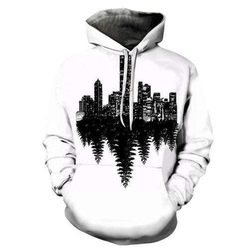 City Vs Country 3D - Sweatshirt, Hoodie, Pullover