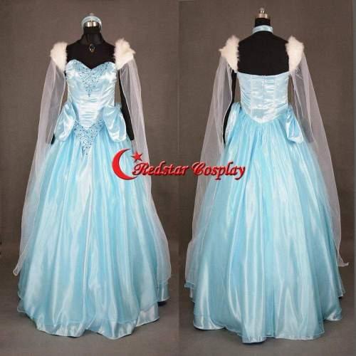 Sandy Princess Cinderella Princess Dress Cosplay Costume Custom In Sizes