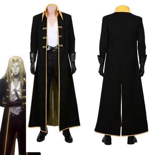 Castlevania Season Adrian Alucard Tepes Halloween Uniform Cosplay Costume