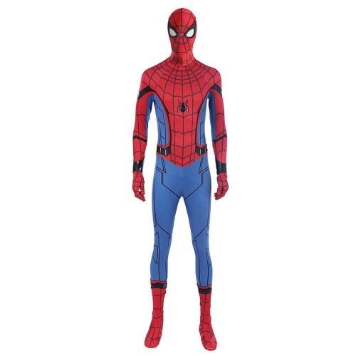 Spider Man Suit Homecoming Spiderman Jumpsuit Halloween Cosplay Costume