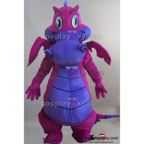 Big Dragon Mascot Costume Fancy Dress Outfit Suit