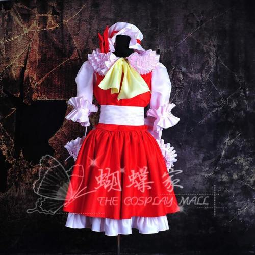 Touhou Project Flandre Scarlet Cosplay Dress/Costume