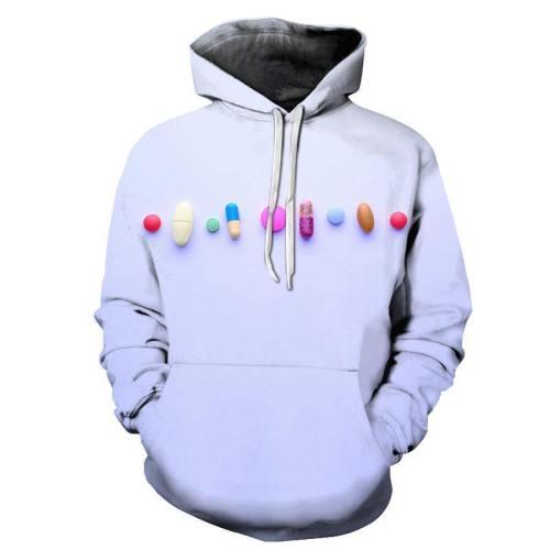 Purple Medicine Awareness - 3D - Sweatshirt, Hoodie, Pullover