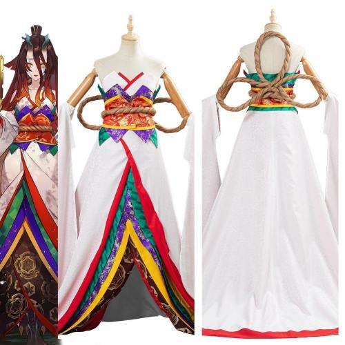 Fate/Grand Order Kijyo Koyo Women Kimono Dress Outfits Halloween Carnival Suit Cosplay Costume