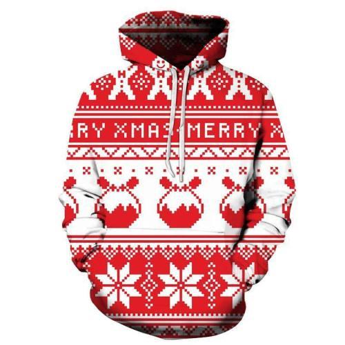 Merry Christmas Hoodie - Sweatshirt, Hoodie, Pullover