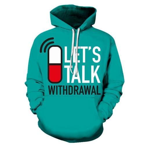 Let'S Talk Mental Health Awareness - 3D - Sweatshirt, Hoodie, Pullover
