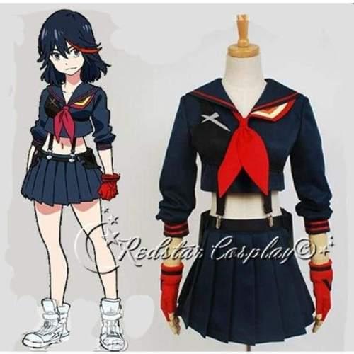 Kill la Kill Matoi Ryuko Senketsu sailor uniform cosplay costume - Custom-made in any size