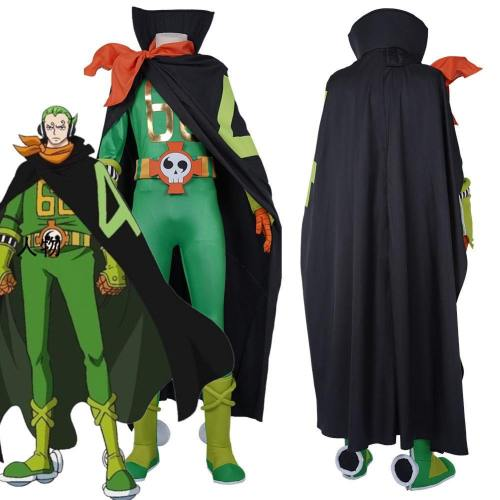 One Piece Vinsmoke Family Combat Suit-Vinsmoke Yonji Halloween Carnival Outfit Cosplay Costume