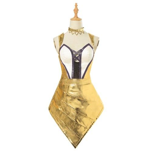 League Of Legends Kda Ahri The Nine-Tailed Fox Prestige Edition Cosplay Costume Women