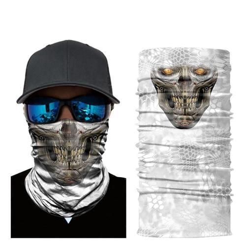Various 3D Skull Skeleton Neck Warmer Face Mask