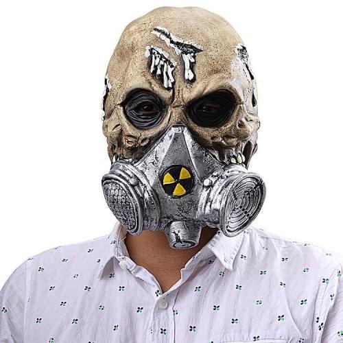 Resident Evil Halloween Party Gas Mask Mask Skull Latex Masks