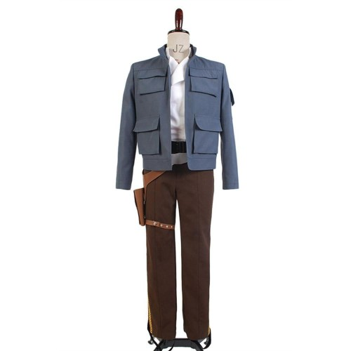 Star Wars: Empire Strikes Back Han Solo Jacket Pants Cosplay Costume