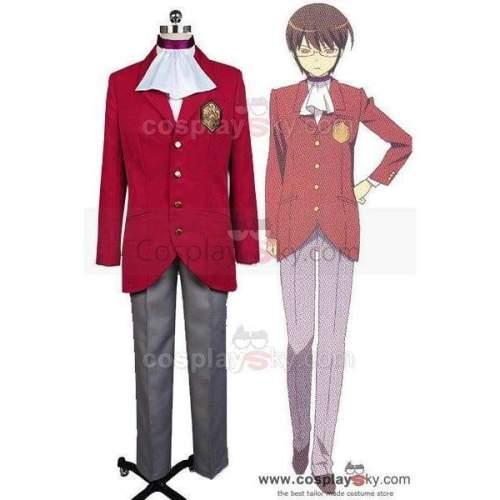 The World God Only Knows Keima Katsuragi Cosplay Costume New