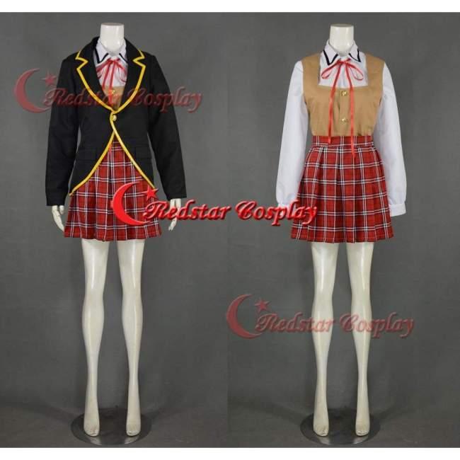 Rwby Cosplay Ruby Weiss Blake Yang Shinbiou Academy Uniform Costume
