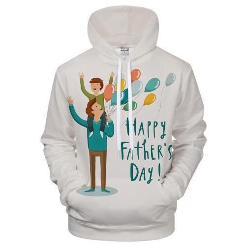 Father'S Day Hoodie 3D Sweatshirt Hoodie Pullover