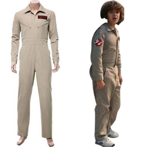 Stranger Things Season 2 Ghost Busters Team Uniform Cosplay Costume