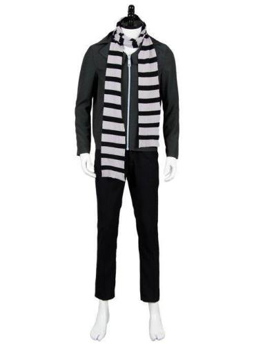 Despicable Me 3  Movie Gru Outfit Cosplay Costume