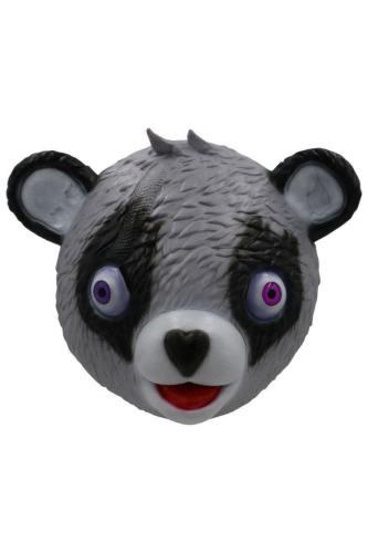 Fortnite Panda Team Leader Bear Mask Halloween Cosplay Masks Grey
