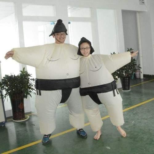 Adult Size Inflatable Costume Sumo Sumou Wrestler Costume