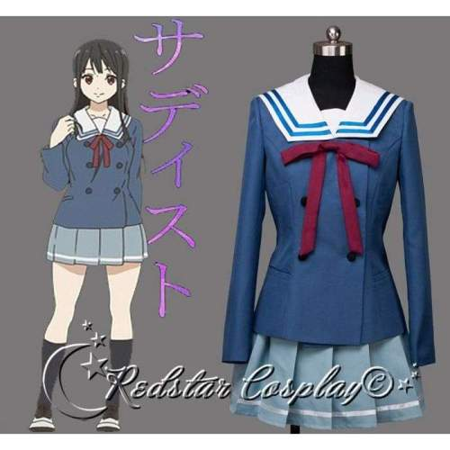 Beyond the Boundary Nase Mitsuki Cosplay Costume - Custom-made in any size