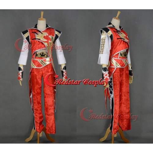 Dynasty Warrios 7 Lu Xun Cosplay Costume