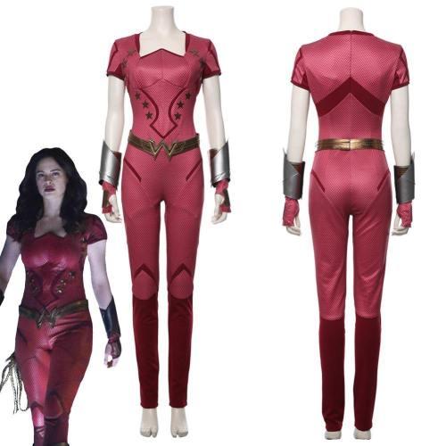 Titans Season 2 Jumpsuit Donna Troy Uniform Outfit Cosplay Costume
