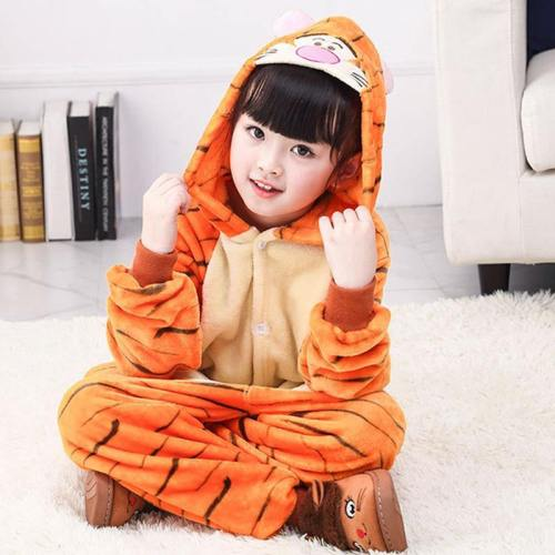 Child Romper Cute Tiger Costume For Kids Onesie Pajamas For Girls Boys